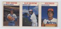 Burt Hooton, Ellis Valentine, Ken Forsch [PoortoFair]