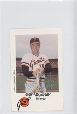 1979 KNBR San Francisco Giants San Francisco Police #N/A - Mike Ivie