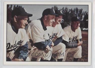 1979 TCMA Baseball History Series the 1950's - [Base] #187 - Brooklyn Dodgers Team