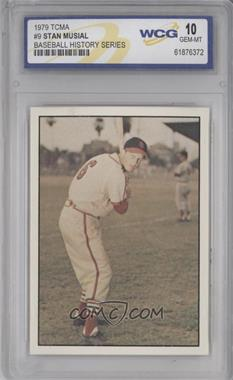 1979 TCMA Baseball History Series the 1950's - [Base] #9 - Stan Musial [ENCASED]