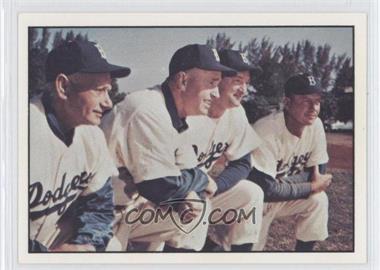 1979 TCMA Baseball History Series the 1950's #187 - Brooklyn Dodgers Team