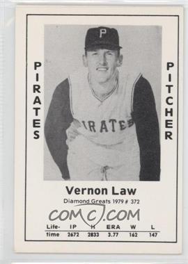 1979 TCMA Diamond Greats #372 - Vern Law