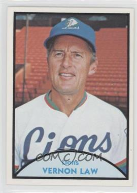 1979 TCMA Japanese Pro Baseball #17 - Vernon Law