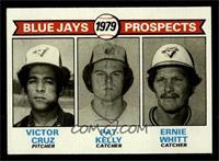 Victor Cruz, Pat Kelly, Ernie Whitt [NM]