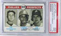 Phillies Prospects (Jim Morrison, Lonnie Smith, Jim Wright) [PSA9]