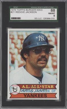 1979 Topps Burger King - Restaurant New York Yankees #21 - Reggie Jackson [SGC88]