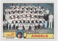 California Angels Team Checklist (Jim Fregosi) [GoodtoVG‑EX]