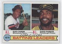 Batting Leaders (Rod Carew, Dave Parker)
