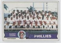 Philadelphia Phillies Team [Good to VG‑EX]