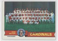 St. Louis Cardinals Team Checklist (Ken Boyer)