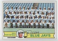 Toronto Blue Jays Team Checklist (Roy Hartsfield)