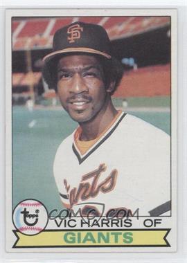 1979 Topps #338 - Vic Harris