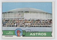 Houston Astros Team Checklist (Bill Virdon)