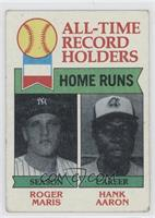 Hank Aaron, Roger Maris [Good to VG‑EX]