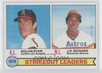 Strikeout Leaders (Nolan Ryan, J.R. Richard)