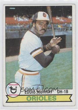 1979 Topps #640 - Eddie Murray [GoodtoVG‑EX]