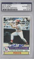 NL All-Star (Pete Rose) [PSA/DNA Certified Auto]