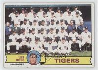 Detroit Tigers Team [Poor to Fair]
