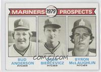 Bud Anderson, Byron McLaughlin, Greg Biercevicz