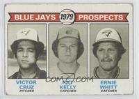 Victor Cruz, Pat Kelly, Ernie Whitt [GoodtoVG‑EX]
