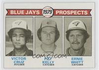 Victor Cruz, Pat Kelly, Ernie Whitt
