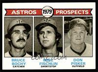 Astros Prospects (Bruce Bochy, Mike Fischlin, Don Pisker) [EXMT]
