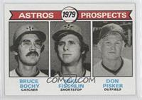 Astros Prospects (Bruce Bochy, Mike Fischlin, Don Pisker)