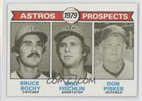 Astros Prospects (Bruce Bochy, Mike Fischlin, Don Pisker) [Good to VG…