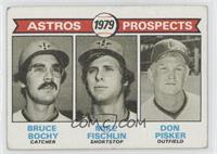 Bruce Bochy, Mike Fischlin, Don Pisker [Good to VG‑EX]