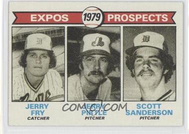 1979 Topps #720 - Jerry Fry, Jerry Pirtle, Scott Sanderson