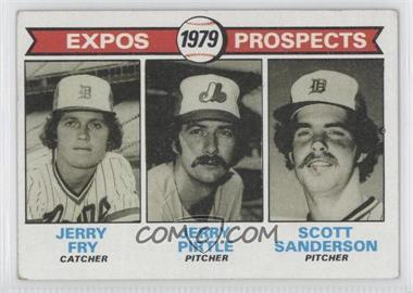 1979 Topps #720 - Jerry Fry, Jerry Pirtle, Scott Sanderson [Good to VG‑EX]