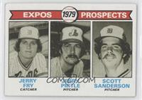 Jerry Fry, Jerry Pirtle, Scott Sanderson [Good to VG‑EX]