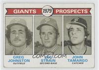Giants Prospects (Greg Johnston, Joe Strain, John Tamargo) [GoodtoV…