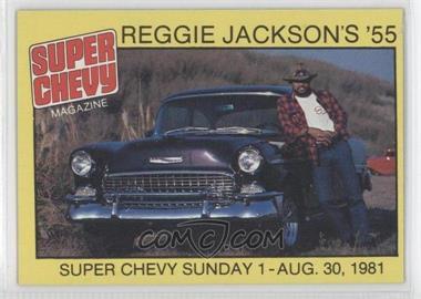 1980-81 Popular Hot Rodding & Super Chevy Magazines Reggie Jackson - [Base] #2 - Reggie Jackson