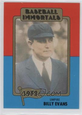 1980-87 SSPC Baseball Immortals #136 - Bill Evers