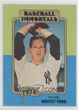 1980-87 SSPC Baseball Immortals #144 - Whitey Ford