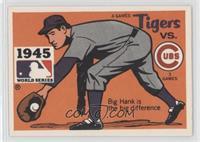 Detroit Tigers vs. Chicago Cubs (Hank Greenberg)