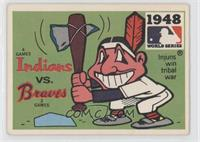 Cleveland Indians vs. Boston Braves [Poor to Fair]