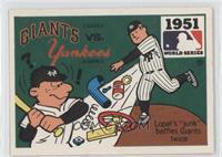 New York Giants vs. New York Yankees (Ed Lopat)
