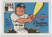 New York Yankees vs. Brooklyn Dodgers (Johnny Mize) [Good to VG&#8209…