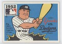 New York Yankees vs. Brooklyn Dodgers (Johnny Mize)