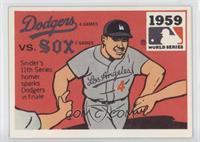 Los Angeles Dodgers vs. Chicago White Sox (Duke Snider) [GoodtoVG&#…