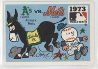 Oakland A's vs. New York Mets