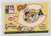 Cincinnati Reds vs. New York Yankees
