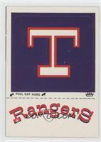 Los Angeles Dodgers vs. New York Yankees (Rangers Logo)