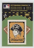 Los Angeles Dodgers vs. New York Yankees (Pirates Sticker back) [Poorto&n…