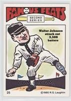 Walter Johnson [Good to VG‑EX]
