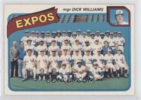 Montreal Expos Team (Dick Williams) [PoortoFair]