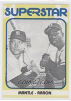Mickey Mantle, Hank Aaron