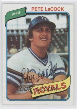 1980 Topps - [Base] #389 - Pete LaCock